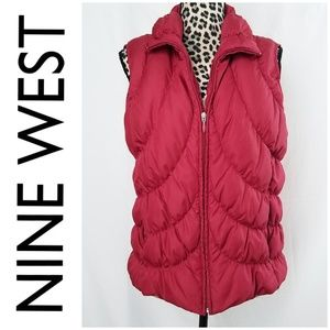 Nine West Down Feather Puffer Vest